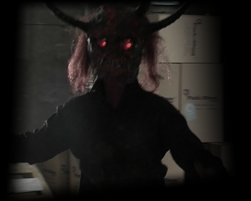 Demon still shot from feature film Turn In Your Grave